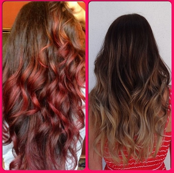 45 Hair Color Ideas For Summer – Hairstyles Weekly Throughout Long Hairstyles Colors (View 23 of 25)