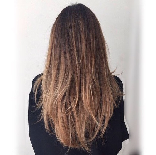 45 Straight Long Layered Hairstyles 2019   Hairstyle Guru For Straight Layered For Long Hairstyles (View 4 of 25)
