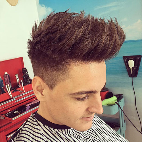 45 Trendy Spiky Hairstyles For Men (2019 Guide) With Spiky Long Hairstyles (View 7 of 25)