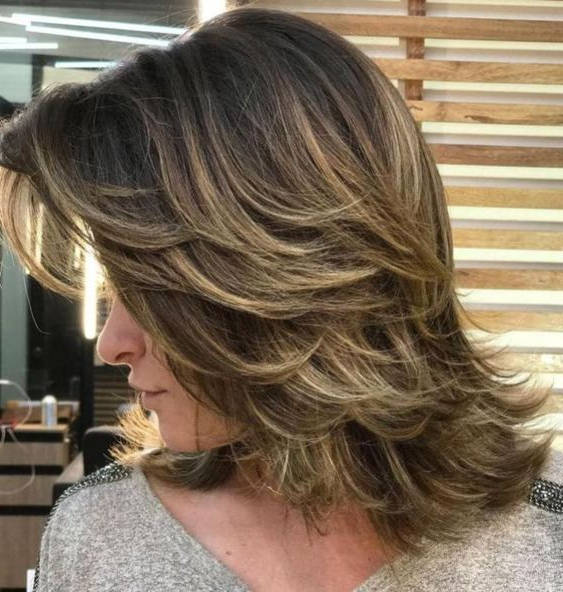 46 Shoulder Length Layered Hairstyles To Drive You Crazy | Hair Throughout Long Texture Revealing Layers Hairstyles (View 13 of 25)