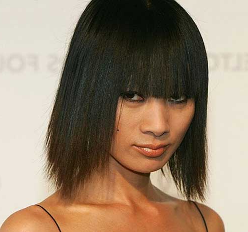 47 Exotic Chinese Bob Haircuts For Women | Hairstylo Inside Chinese Long Haircuts (View 11 of 25)