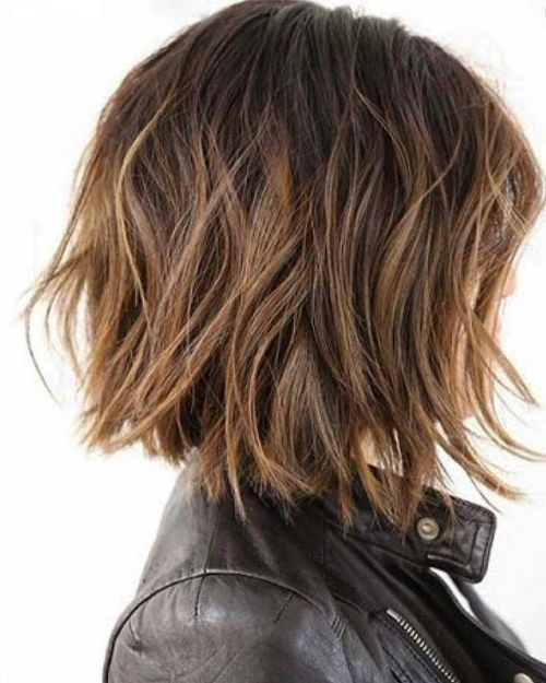 47 Popular Short Choppy Hairstyles For 2019 Intended For Short In Back Long In Front Hairstyles (View 23 of 25)