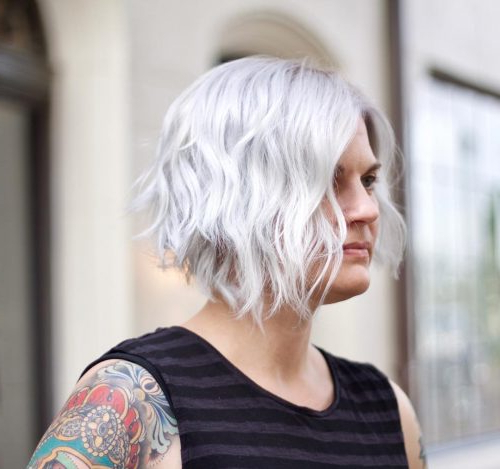 47 Popular Short Choppy Hairstyles For 2019 Within Messy Haircuts With Randomly Chopped Layers (View 17 of 25)