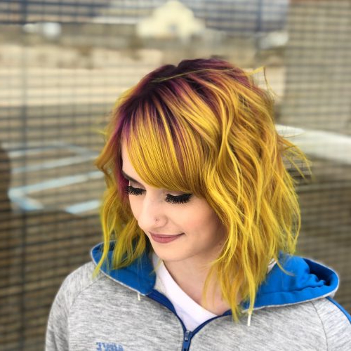 47 Very Edgy Hairstyles You'll See In 2019 For Edgy Long Haircuts With Bangs (View 10 of 25)