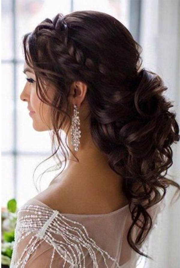 48 Of The Best Quinceanera Hairstyles That Will Make You Feel Like A Pertaining To Long Curly Quinceanera Hairstyles (View 8 of 25)