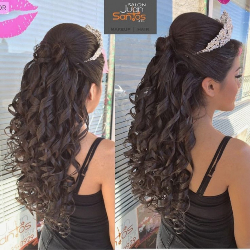 48 Of The Best Quinceanera Hairstyles That Will Make You Feel Like A Within Long Hair Quinceanera Hairstyles (View 6 of 25)