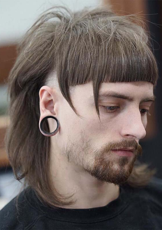 48 Superb Side Shaved Long Hairstyles For Men 2018 | Modeshack In Shaved And Long Hairstyles (View 20 of 25)