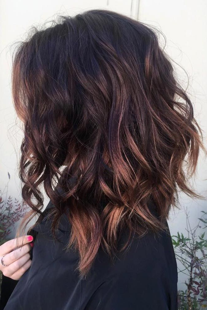49 Superb Medium Length Hairstyles For An Amazing Look | Hairstyles Within Choppy Chestnut Locks For Long Hairstyles (View 10 of 25)