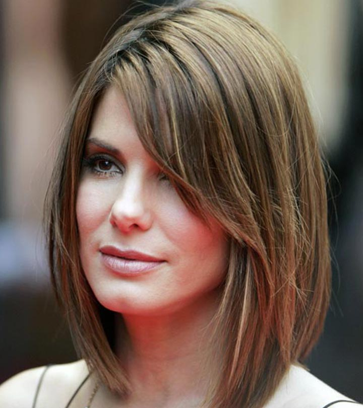 5 Flattering Hairstyles For Long Faces For Long Haircuts For Long Faces (View 2 of 25)