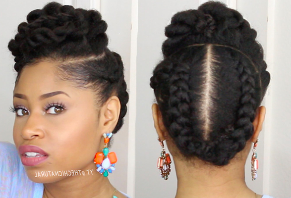 5 Gorgeous Natural Hair Styles That Are Super Easy To Do Regarding Long Hairstyles Natural (View 21 of 25)