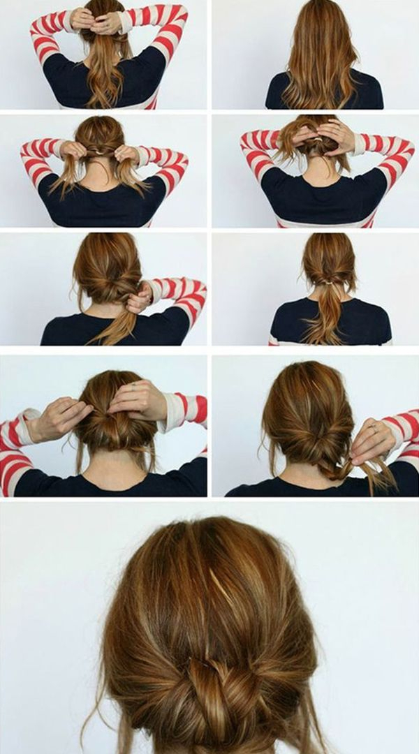 5 Quick And Easy Low Bun Hairstyles For A Busy Morning – | Fashion Pertaining To Looped Low Bun Hairstyles (View 5 of 25)