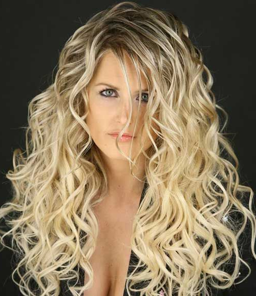 50 Amazing Permed Hairstyles For Women Who Love Curls Intended For Long Permed Hair With Bangs (View 23 of 25)