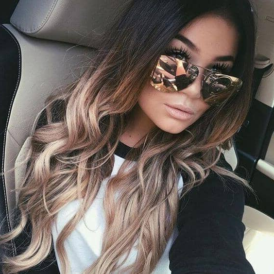 50 Beautiful Ombre Hairstyles Throughout Long Hairstyles Ombre (View 25 of 25)