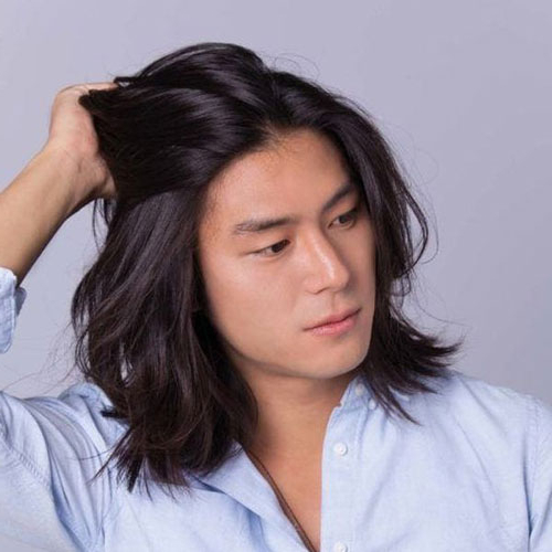 50 Best Asian Hairstyles For Men (2019 Guide) Throughout Long Hairstyles Asian (View 15 of 25)