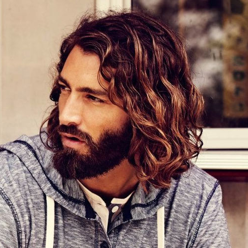 50 Best Curly Hairstyles + Haircuts For Men (2019 Guide) Inside Men Long Curly Hairstyles (View 19 of 25)