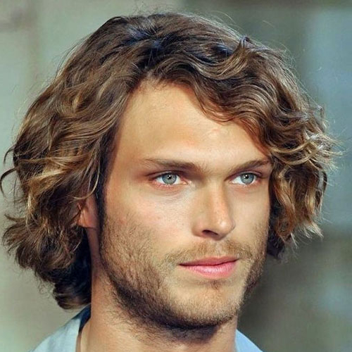 50 Best Curly Hairstyles + Haircuts For Men (2019 Guide) With Regard To Long Curly Haircuts For Men (View 21 of 25)