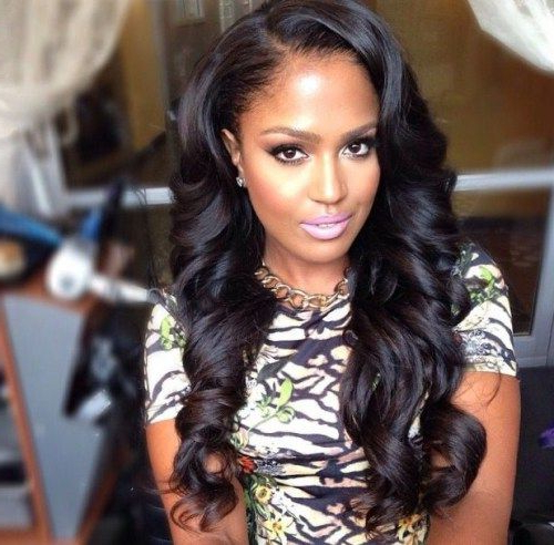 Featured Photo of Long Haircuts For Black Women