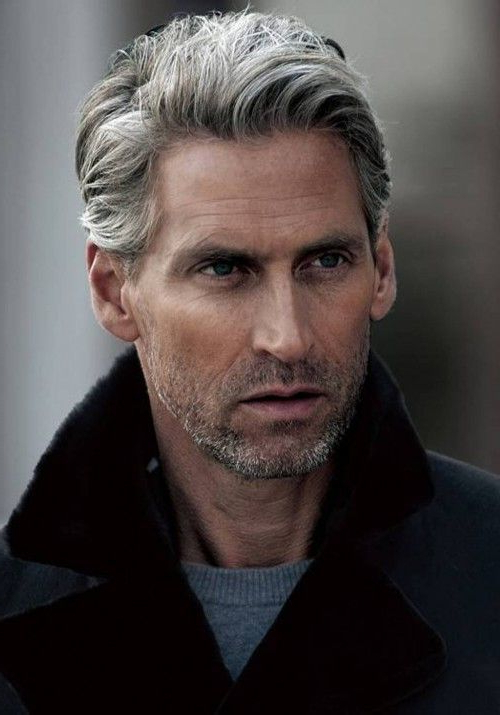50 Best Grey Hairstyles & Haircuts For Men Within Long Hairstyles For Grey Hair (View 20 of 25)