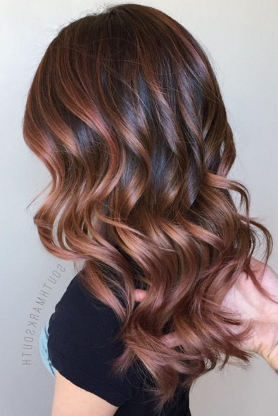 50 Best Hair Colors – Top Hair Color Trends & Ideas For 2019 Regarding Long Hairstyles And Colours (View 6 of 25)