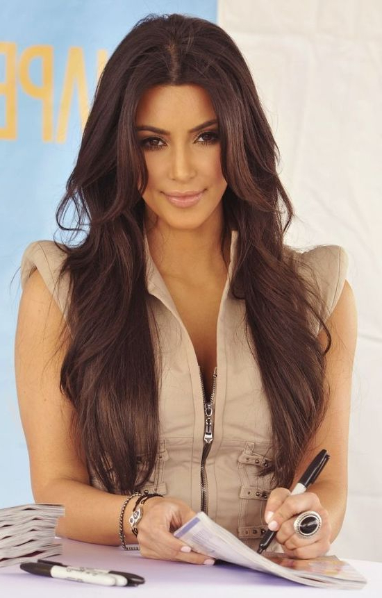 50 Best Kim Kardashian Hairstyles | Hairstyles For Women | Kim Regarding Kim Kardashian Long Hairstyles (View 1 of 25)