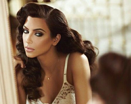 50 Best Kim Kardashian Hairstyles   I Do!   Prom Hair, Hair Styles With Regard To Long Hair Vintage Hairstyles (View 14 of 25)