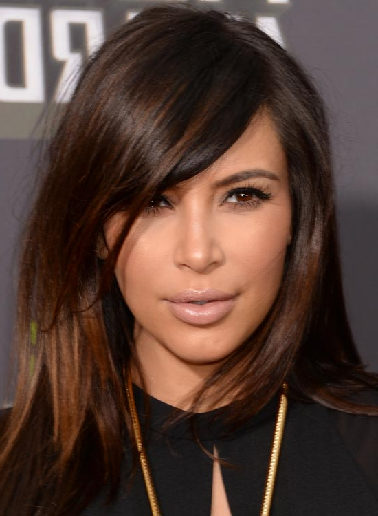 50 Best Kim Kardashian Hairstyles With Regard To Long Hairstyles Kim Kardashian (View 13 of 25)