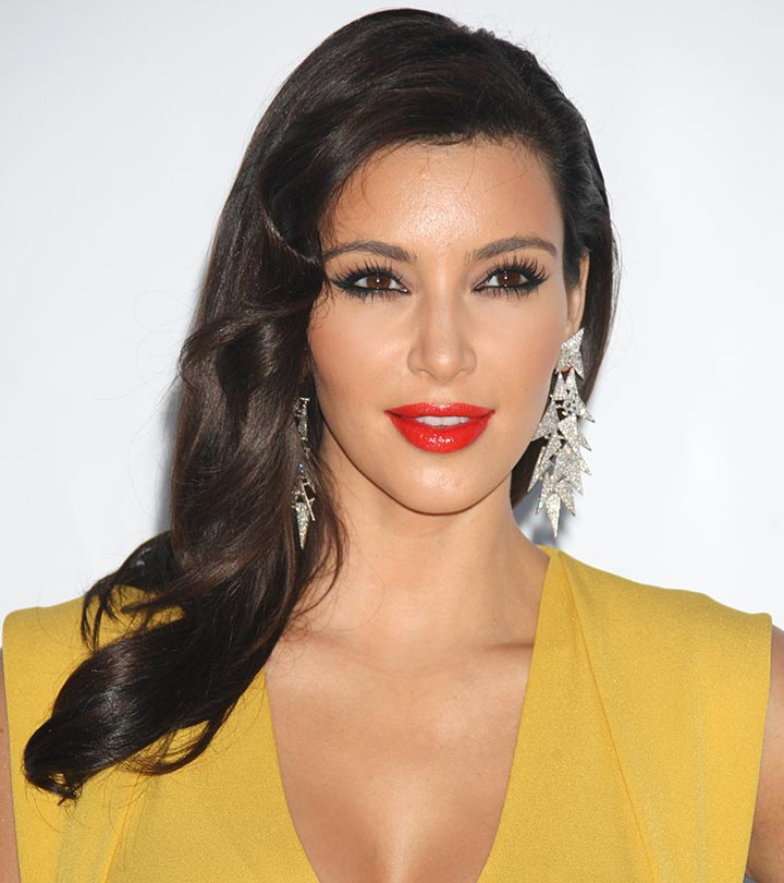 50 Best Kim Kardashian Hairstyles Within Kim Kardashian Long Hairstyles (View 14 of 25)