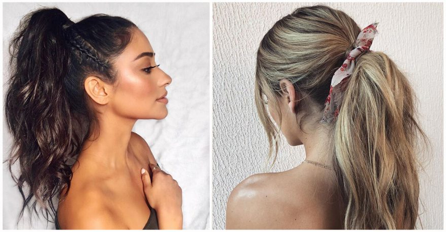 50 Best Ponytail Hairstyles To Update Your Updo In 2019 For Side Bun Twined Prom Hairstyles With A Braid (View 21 of 25)