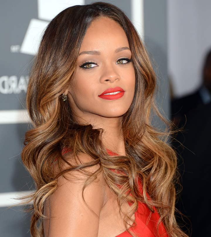 Featured Photo of Long Hairstyles Rihanna