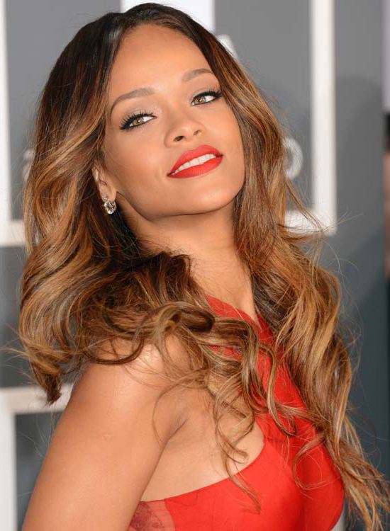 50 Best Rihanna Hairstyles Pertaining To Rihanna Long Hairstyles (View 3 of 25)