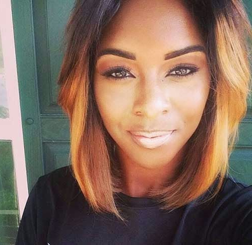 50 Bob Hairstyles For Black Women | Hairstyles Update With Regard To Long Layered Hairstyles For Black Women (View 16 of 25)