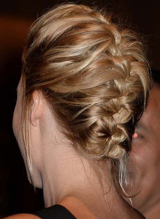 50 Braided Hairstyles That Are Perfect For Prom Intended For Braided And Twisted Off Center Prom Updos (View 9 of 25)
