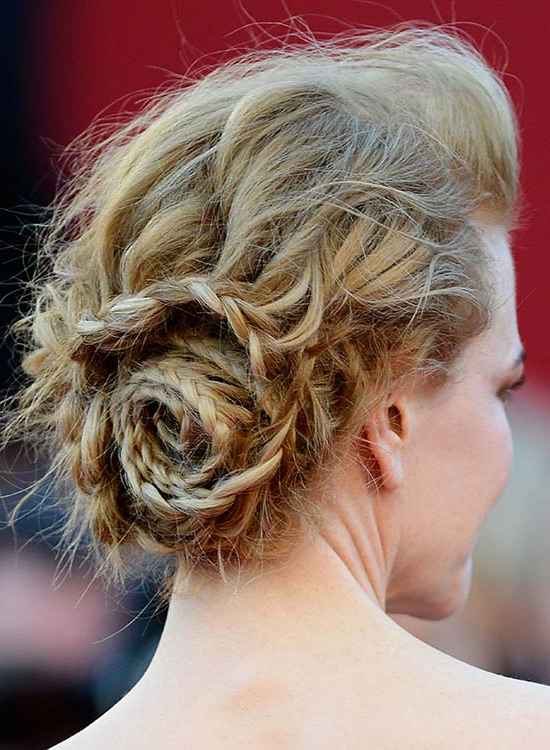 50 Braided Hairstyles That Are Perfect For Prom Pertaining To Messy Braided Prom Updos (View 15 of 25)