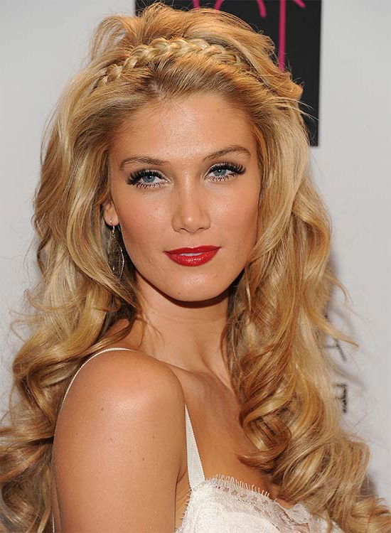 50 Braided Hairstyles That Are Perfect For Prom Regarding Wavy Prom Hairstyles (View 21 of 25)