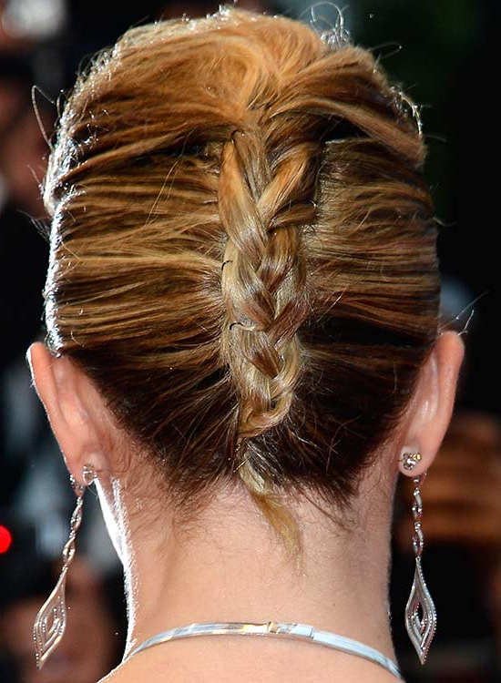 50 Braided Hairstyles That Are Perfect For Prom With French Roll Prom Hairstyles (View 5 of 25)