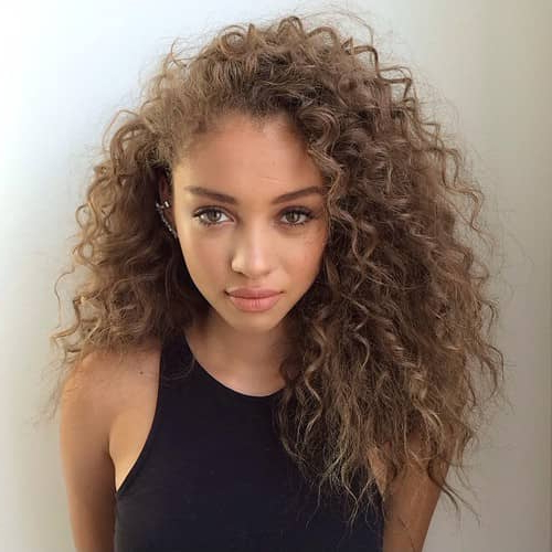 50 Brilliant Haircuts For Curly Hairstyle 2019 (Art, Design And Ideas) In Haircuts For Women With Long Curly Hair (View 10 of 25)