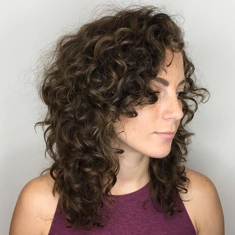 50 Brilliant Haircuts For Curly Hairstyle 2019 (Art, Design And Ideas) With Long Hairstyles With Layers And Curls (View 8 of 25)
