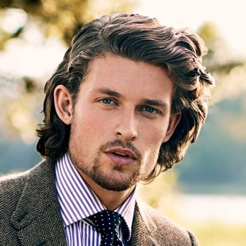 50 Business Casual Hairstyles For Men In 2019 – Men Hairstyles World Intended For Long Hairstyles Professional (View 24 of 25)