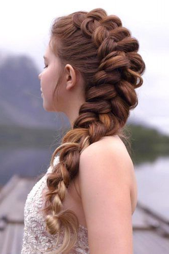 Featured Photo of Double Fishtail Braids For Prom