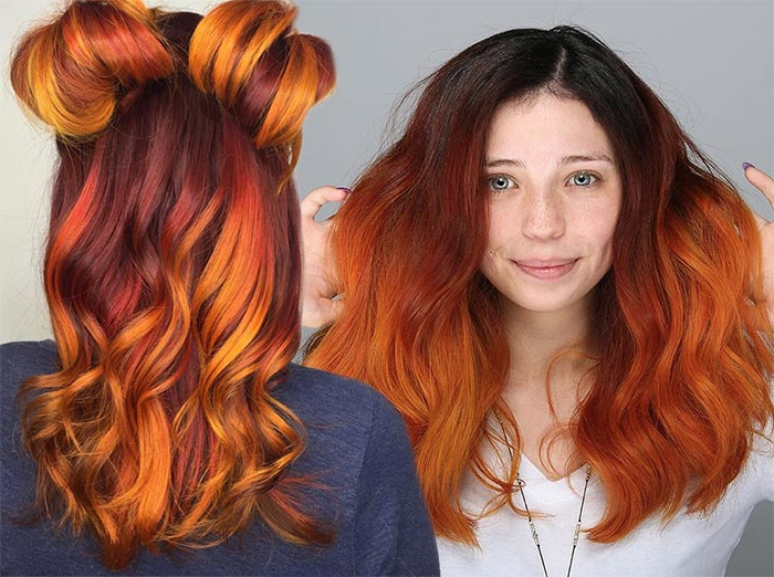 50 Copper Hair Color Shades To Swoon Over | Fashionisers© Intended For Long Hairstyles Red Hair (View 17 of 25)
