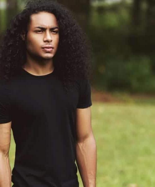 50 Creative Long Hairstyles For Black Men | Menhairstylist Regarding Long Hairstyles Ebony (View 15 of 25)