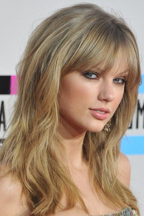 Featured Photo of Cute Long Haircuts With Bangs And Layers