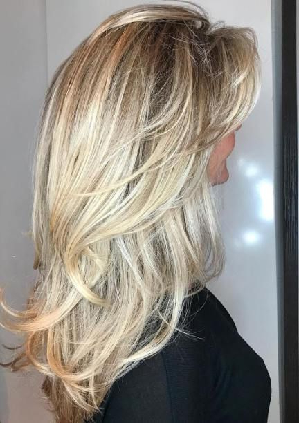 50 Cute And Effortless Long Layered Haircuts With Bangs In 2019 For Long Layered Hairstyles (View 4 of 25)