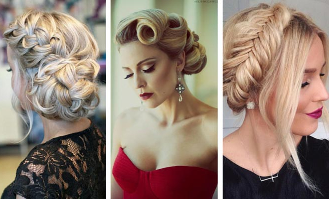 50 Cute And Trendy Updos For Long Hair | Stayglam Regarding Long Hairstyles Pulled Up (View 21 of 25)