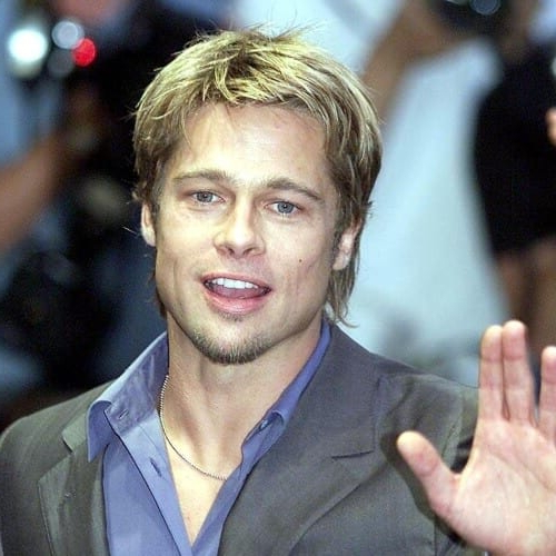 50 Diverse Brad Pitt Hairstyles – Men Hairstyles World In Long Young Hairstyles (View 16 of 25)