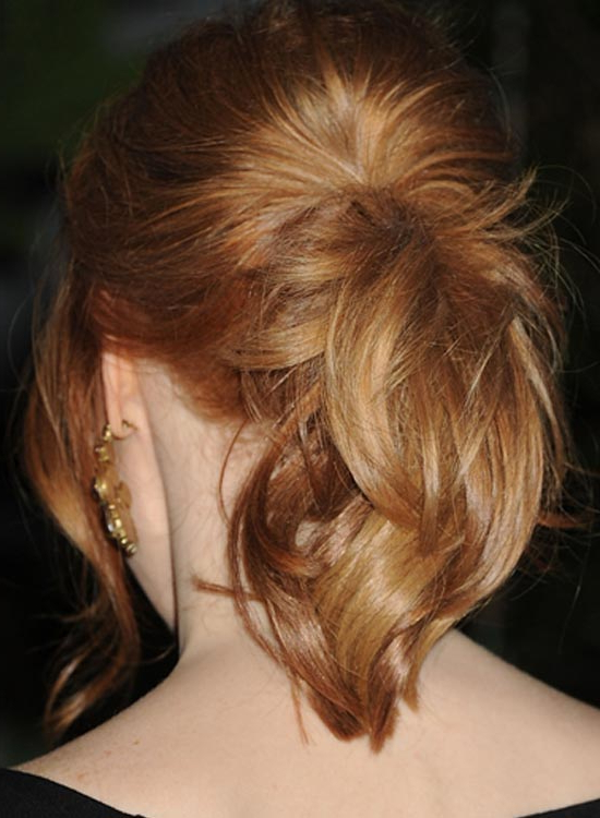 50 Edgy Medium Length Hairstyles Regarding Ponytail Layered Long Hairstyles (View 16 of 25)