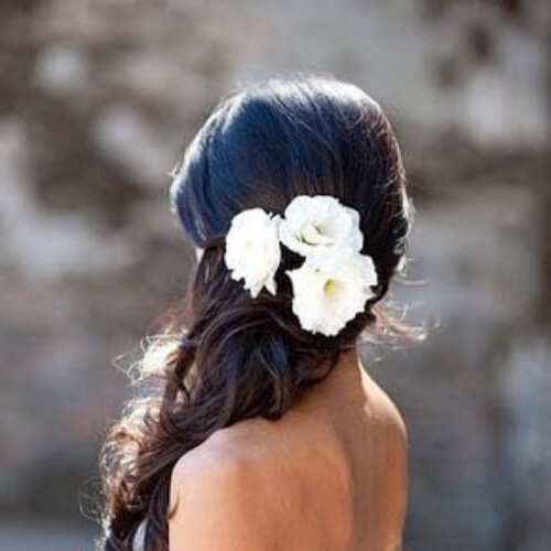 50 Enchanting Wedding Updos   All Women Hairstyles Inside Side Bun Prom Hairstyles With Orchids (View 22 of 25)