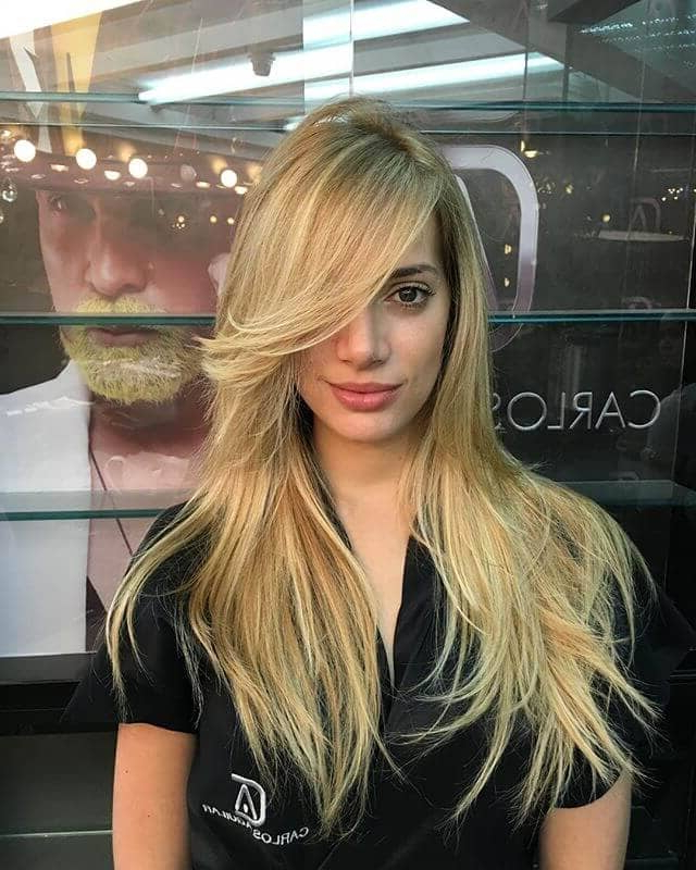 50 Fresh Hairstyle Ideas With Side Bangs To Shake Up Your Style Pertaining To Long Hair With Layers And Side Swept Bangs (View 18 of 25)