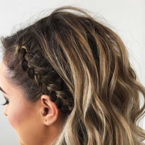50 Freshest Prom Hairstyles For Short Hair | All Women Hairstyles Intended For Double Crown Braid Prom Hairstyles (View 13 of 25)