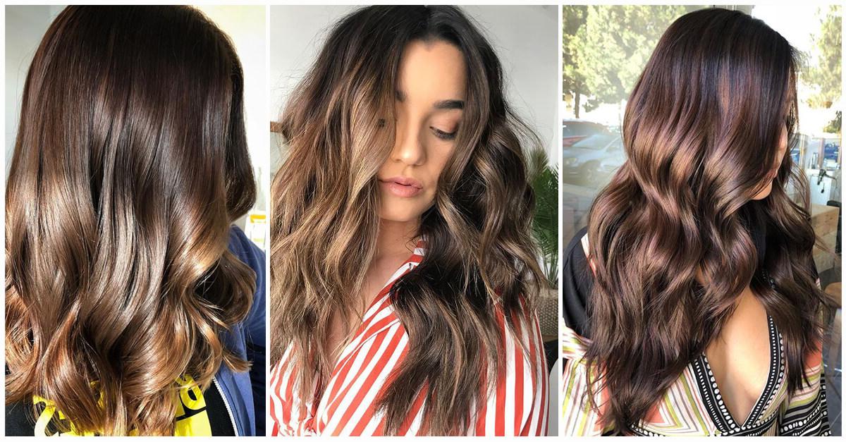 50 Fun Dark Brown Hair Ideas To Shake Things Up In 2019 In Long Hairstyles For Dark Hair (View 5 of 25)